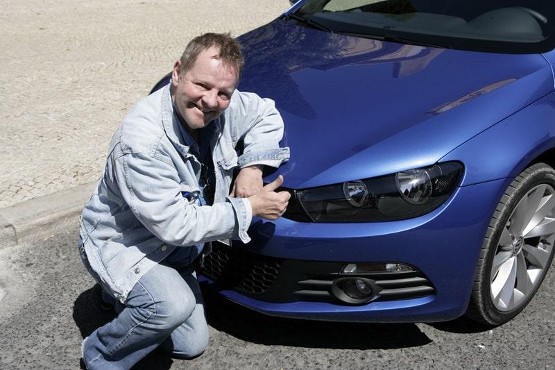 PeO Kjellström imponeras av nya VW Scirocco, vilket indirekt visar vad som komma skall i nästa generation Golf.