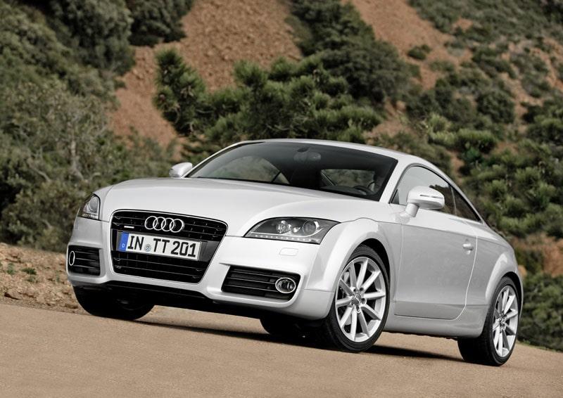 Provkörning av Audi TT
