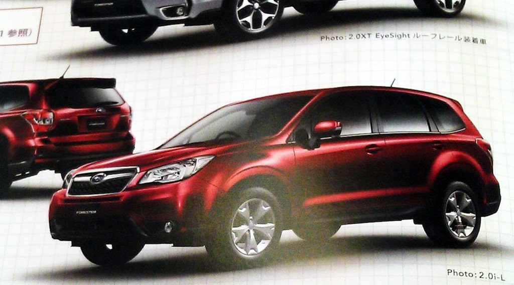 Nya Subaru Forester