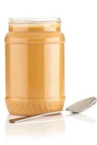 Jordnötssmör ger sälta, protein och en oemotståndlig smak.