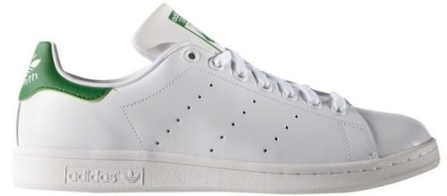 Sneakers av skinn, modell Stan Smith, 800 kr, Adidas.