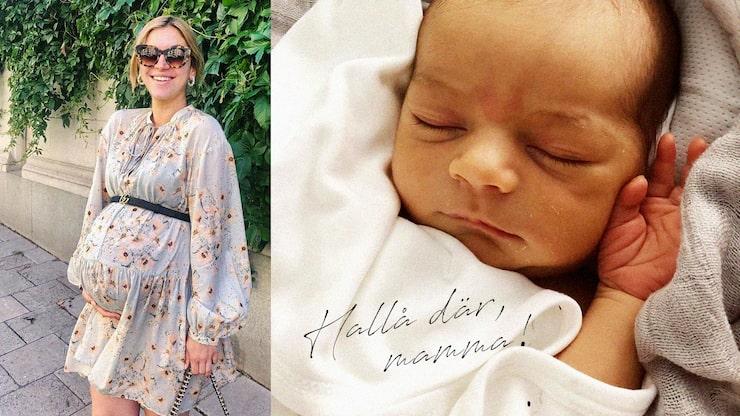 Michaela blev den 19 juli mamma till sonen Dante.