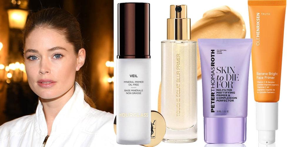 Vilken primer för huden är bäst? Läs Damernas Världs stora Bäst i Test!
