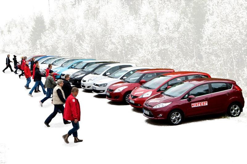 15 småbilar i test.