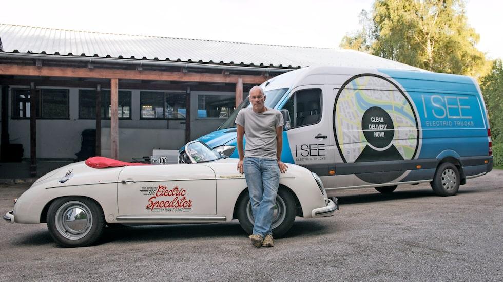 Christian von Hösslin på Turn-e är reklammakaren som började bygga elbilar.