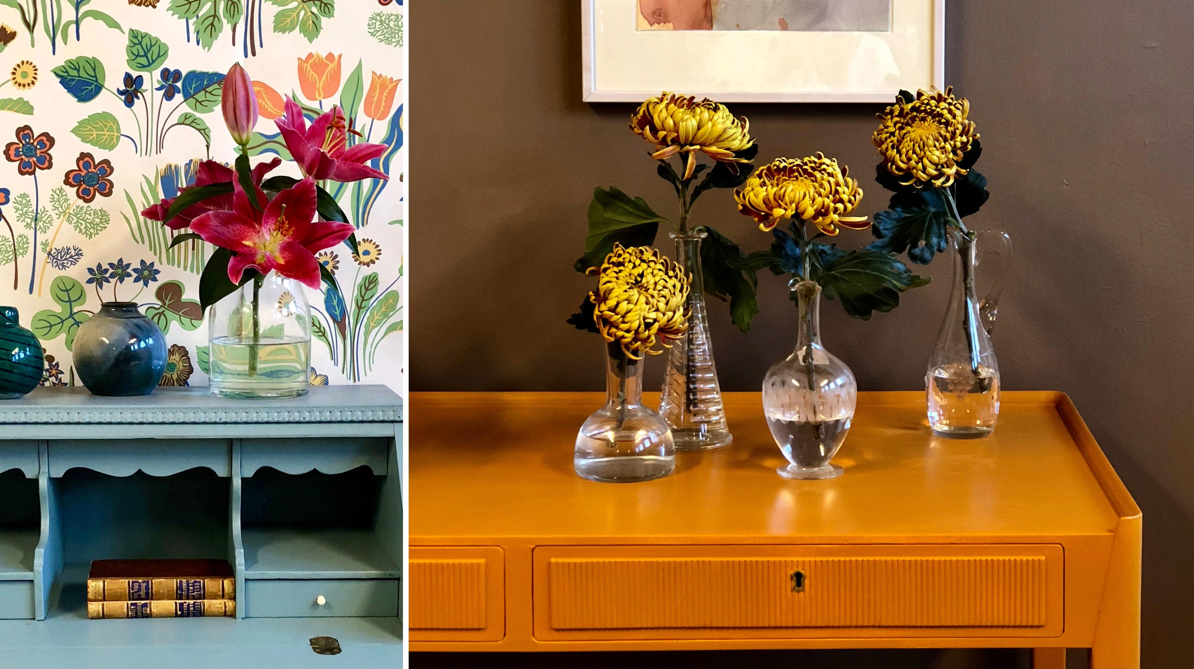 Måla om dina gamla möbler – underbar DIY inspiration