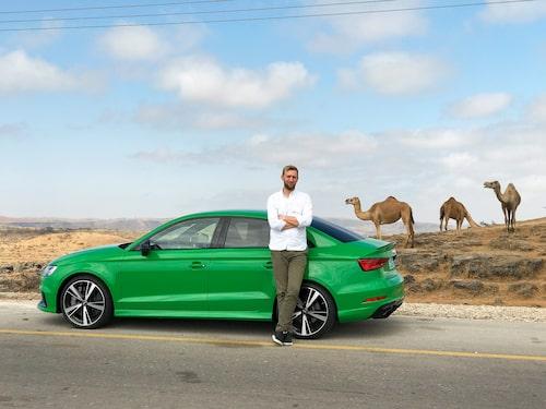 Kamelen är ett partåigt hovdjur. Erik Wedberg är en tiotåig motorreporter.