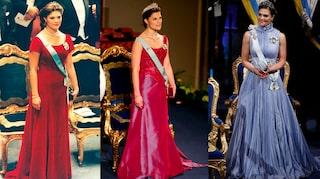 Kronprinsessan Victorias nobelklänningar från 1995 2019