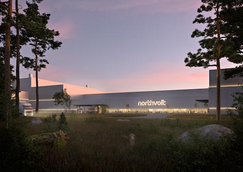 Ambitionen är att fabriken i Skellefteå ska vara uppe och rulla 2024.
