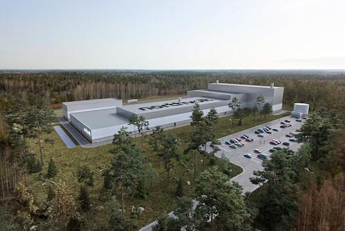 Fabriken i Skellefteå väntas på sikt ge arbetstillfällen åt uppåt 3000 personer.