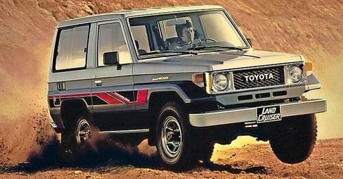 J70-serien (1984-). Ersättaren till J40 tillverkas fortfarande! Populär i Afrika och Australien.