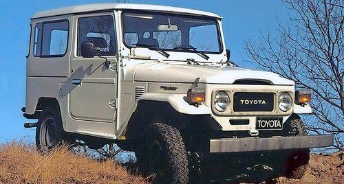 J40-serien (1960-84). Tredje generationens Land Cruiser är kanske den mest klassiska.