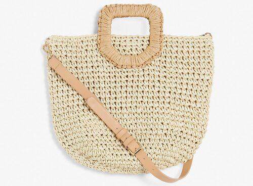 Handgjord stråväska från Kappahl med avtagbar axelrem. Klicka på bilden och kom direkt till väskan.