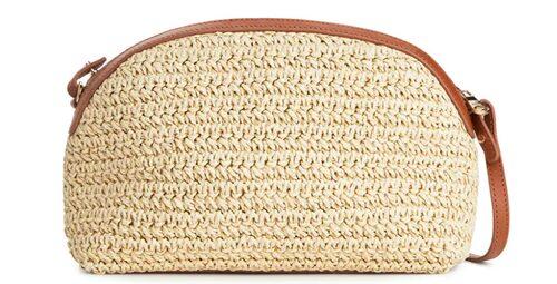 Handväska från Arket med skinndetaljer. Klicka på bilden och kom direkt till väskan.
