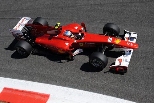 Hemmaseger för Ferrari. Med den utmanade Fernando Alonso täten i tabellen. (Foto: Ferrari)