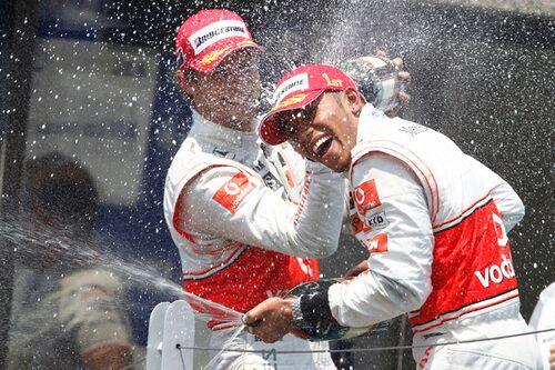 Kanada var tillbaka i kalendern efter tre års frånvaro. Lewis Hamilton tog sin andra seger på raken. (Foto: Vodafone McLaren Mercedes)