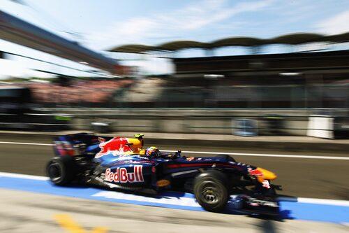 Mark Webber såg inledningsvis ut som en förlorare men vann tillslut Ungerns Grand Prix. (Foto:Mark Thompson/Getty Images)