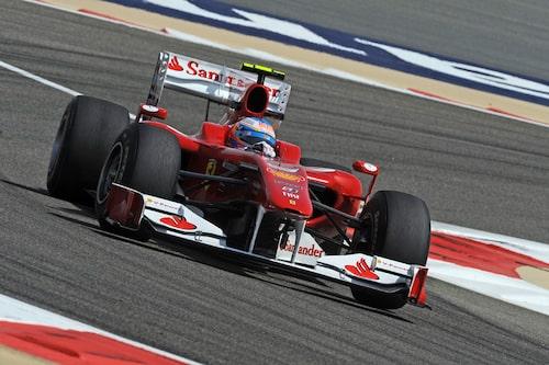 Favorittippade Fernando Alonso startade från tredje startruta och tog hen årets första Grand Prix i Bahrain. (Foto: Ferrari)