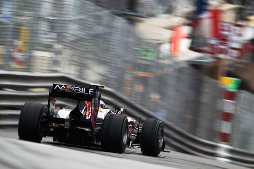Från Pole Position till segerflagga. Mark Webber var Monacos man i år. (Foto:Mark Thompson/Getty Images)