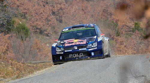 Jari-Matti Latvala slutade tvåa i Rally Monte Carlo 2015.