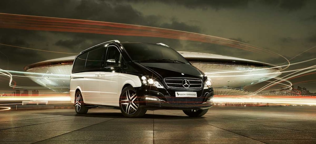 Mercedes Viano Vision Diamond Peking 2012