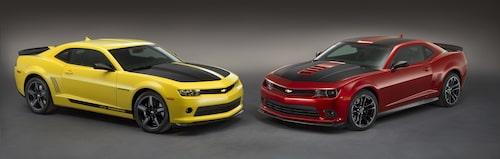 Chevrolet Performance Camaro V6 Concept och Chevrolet Performance Camaro V8 Concept