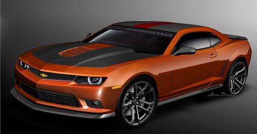 Chevrolet Performance Garage Camaro