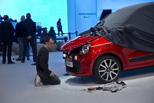 Nya Renault Twingo förbereds.