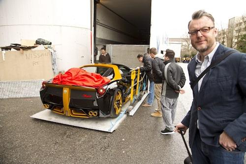 Hans Hedberg och Nimrod Zero Ferrari 458.