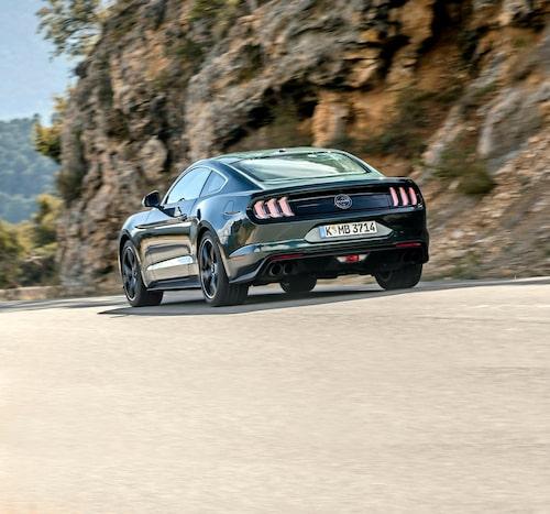 Bullitt smäller högre än vanliga Mustang men vi hade önskat en mer