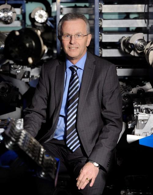Derek Crabb, Volvo Powertrain Engineering