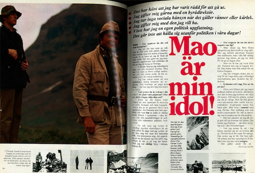 Intervjun med Carl Gustaf i ett nummer av Damernas Värld 1972.