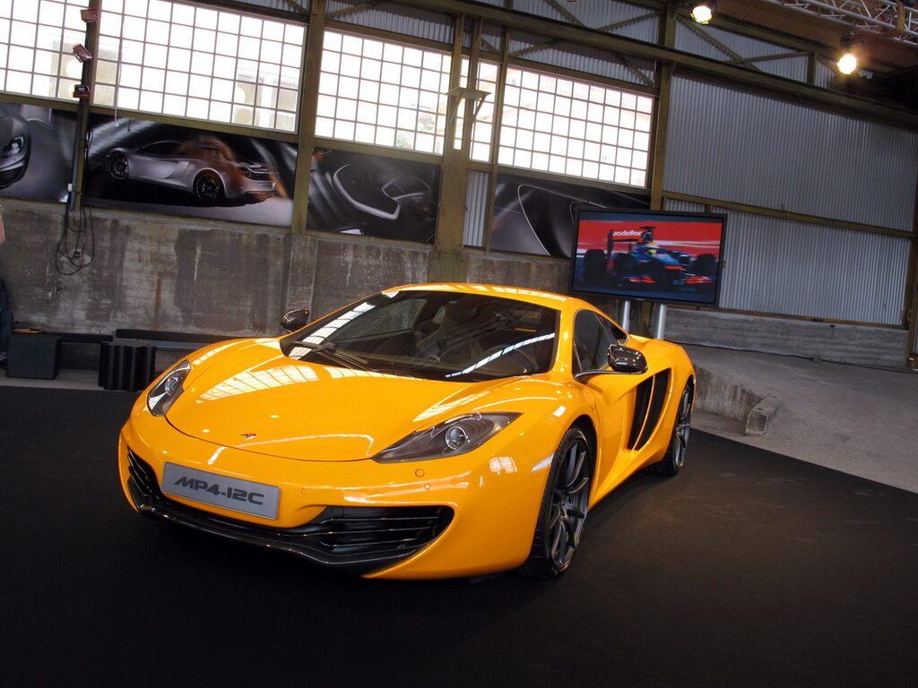 McLaren MP4-12C finns nu att köpa i Sverige.