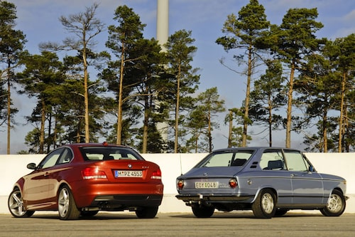 Knycken på bakre takstolpen har hängt med sedan Wilhelm Hofmeister fick till den på BMW 3200 CS. Året var 1961.