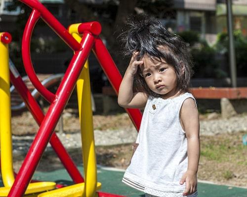 Tempot är ofta lugnare i förskolan på sommaren.