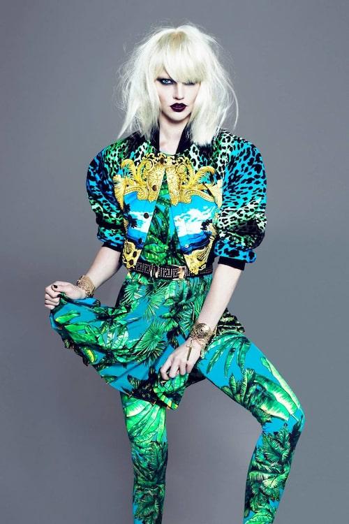 Versace i samarbete med H&M 2011.