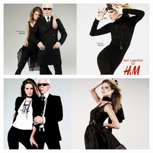 Karl Lagerfelds designsamarbete med H&M