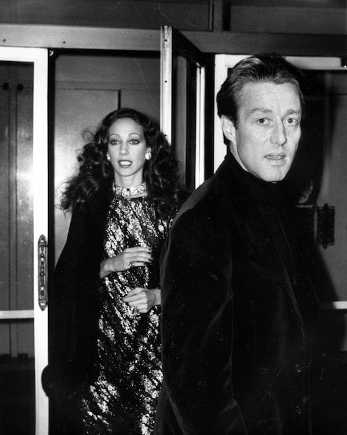 Marisa Berenson och Halston 1976.