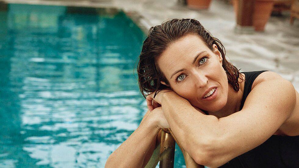Therese Alshammar gör kollektion med badkläder för Ellos.