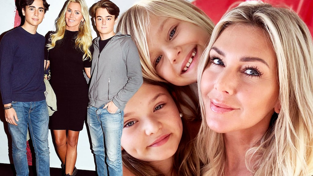 """Hannah Graaf i stor intervju om sina fyra barn, separationen från Peter Karyd och serien """"Systrarna Graaf"""" med storasyster Magdalena."""