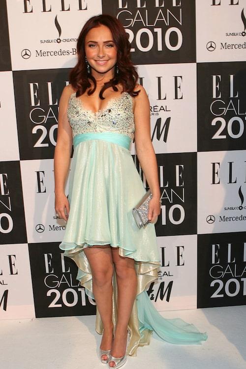 Hayden Panettiere på Elle-galan.