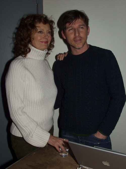 Susan Saradon och Todd Oldham 2002.