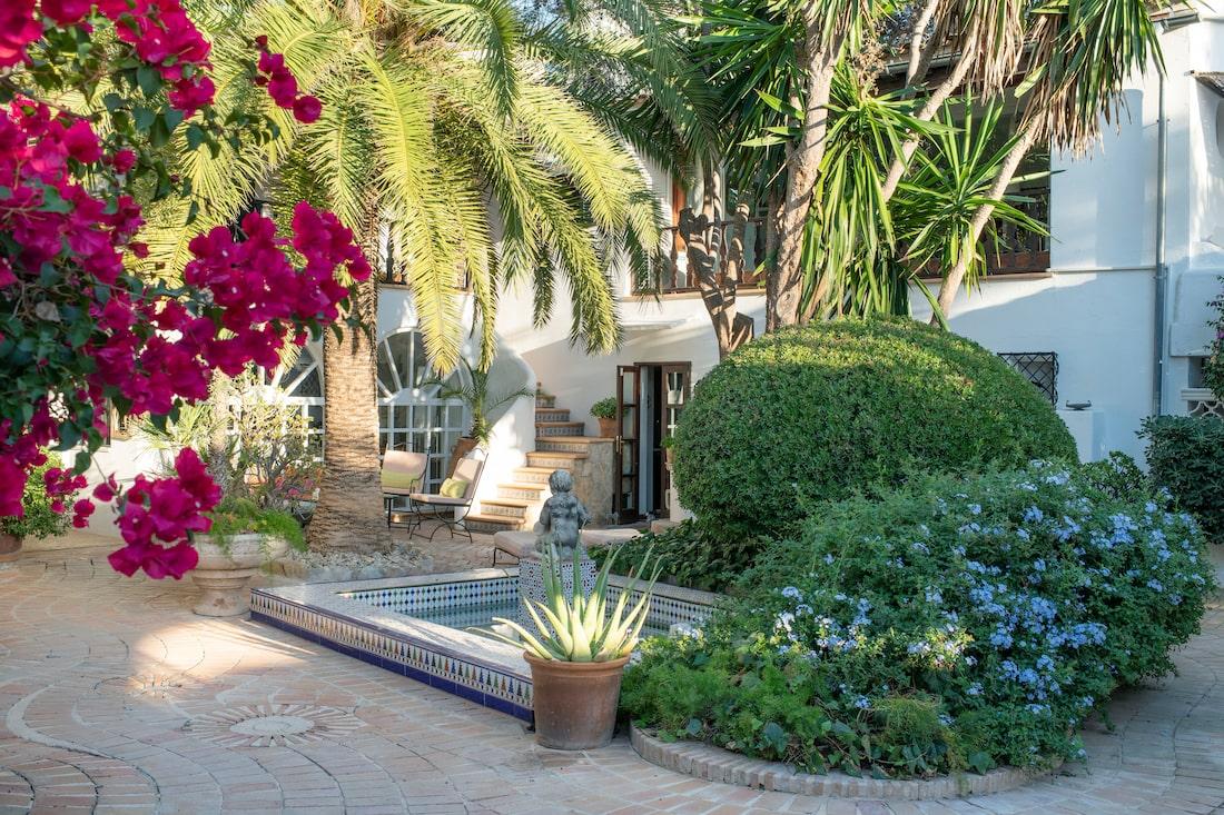 Ingelas paradis på Mallorca - köpte huset av   Sköna hem