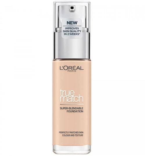 Recension på True match foundation, L'Oréal Paris. Klicka på bilden och kom direkt till produkten.