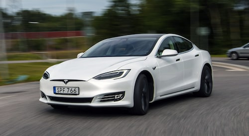 Hetaste elbilen på Blocket... Tesla Model S.