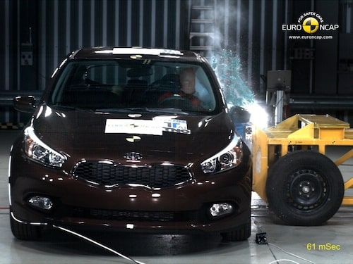Euro NCAP krocktest Kia Cee'd: sida