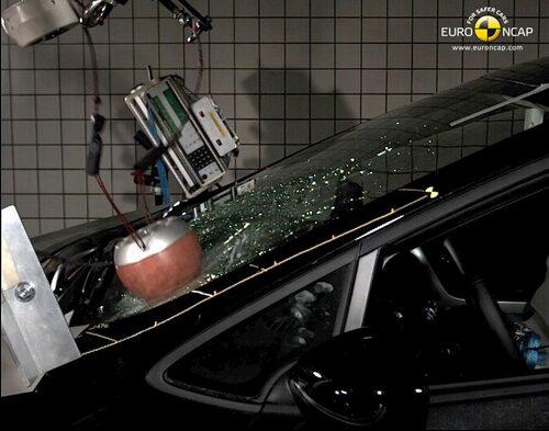 Euro NCAP krocktest Kia Cee'd: fotgängare