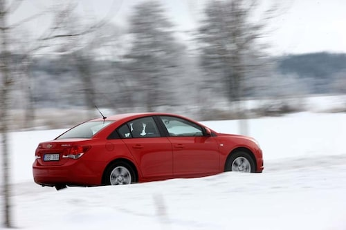 Cruze är Chevrolets första jorden-runt-bil – 1,5 miljoner exemplar ska säljas.