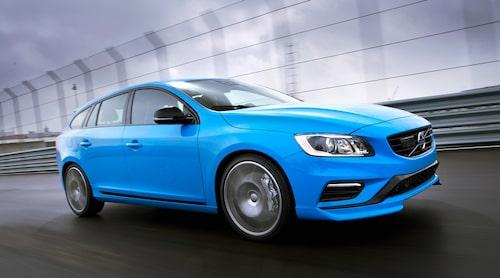 Volvo har i dag en prestandakombi i V60 Polestar, snart har de två.