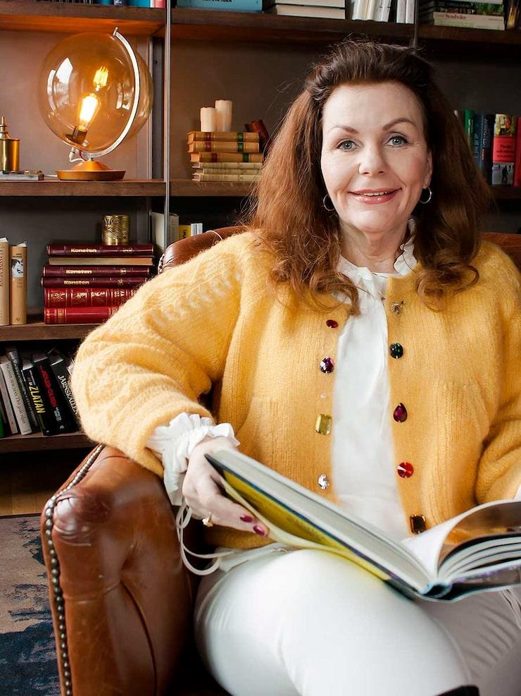 Astrologen Margareta Hedin.